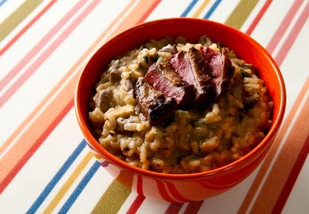 porcini risotto recipe