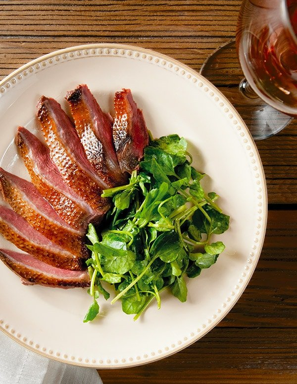 smoked duck recipe