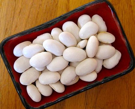 white runner beans