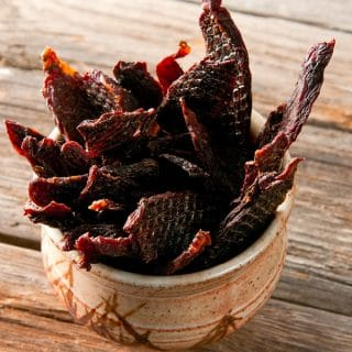 duck jerky recipe