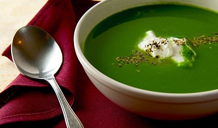 nettle soup with fish recipe