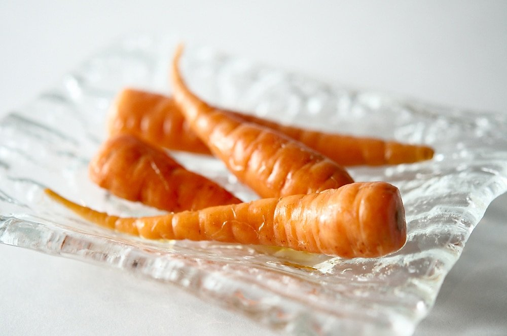 fermented carrots in a bowl
