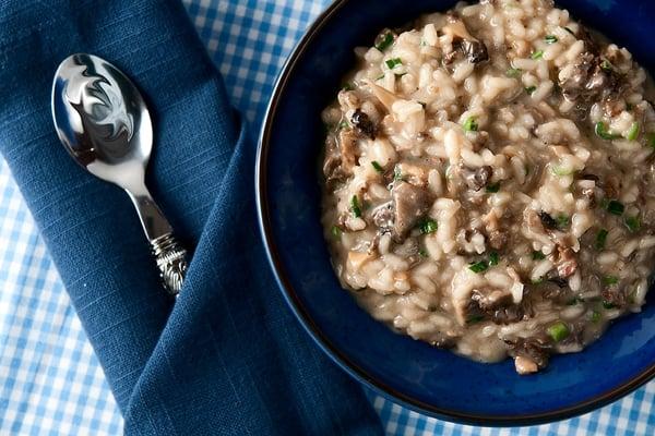 morel risotto recipe