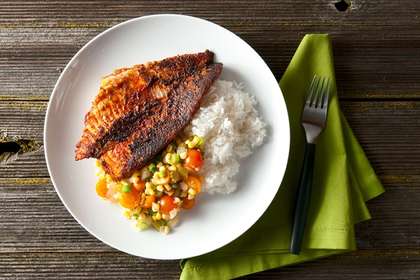 how to cook blackened catfish on the stove
