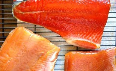 pellicle on salmon