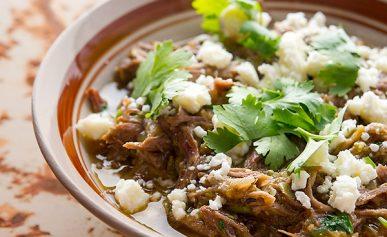 chile verde recipe with wild boar
