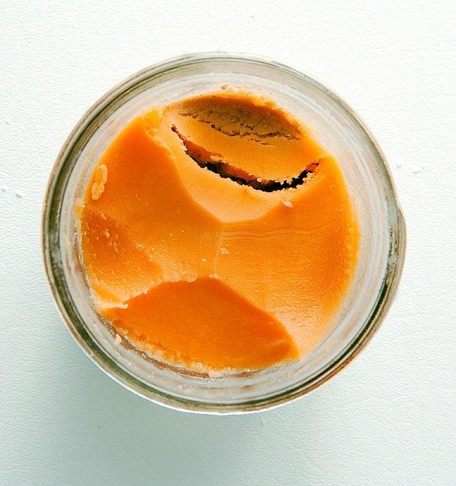 A jar of crayfish butter
