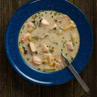 salmon chowder recipe