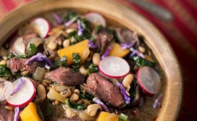 venison stew food plot