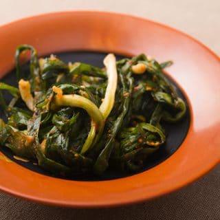 Wild Green Onion Kimchi