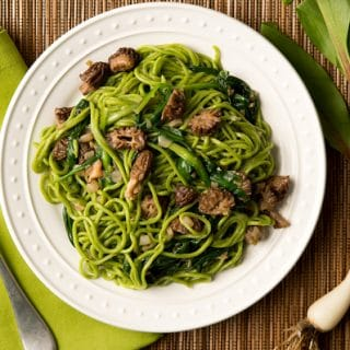 ramp pasta morels recipe