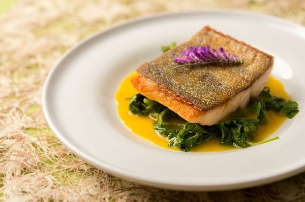 trout orange-saffron sauce recipe