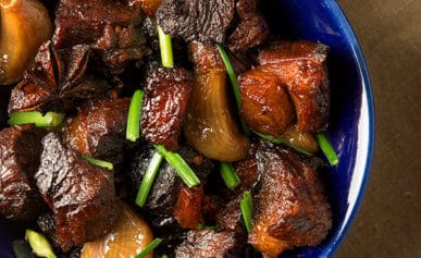 red cooked pork recipe
