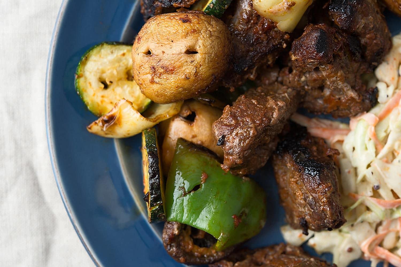 venison kebabs recipe
