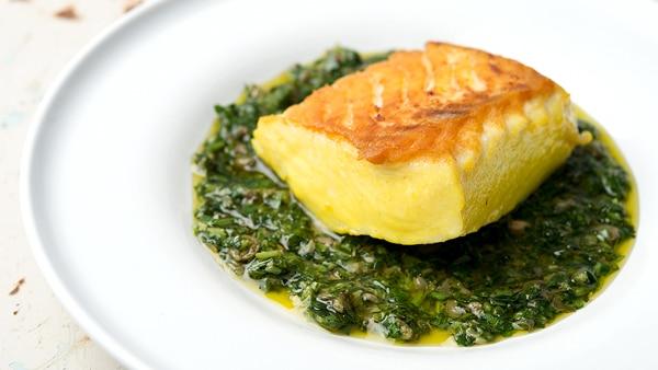 saffron halibut recipe