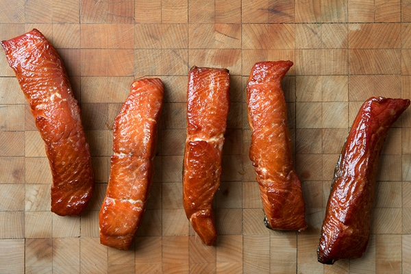 How to make salmon candy