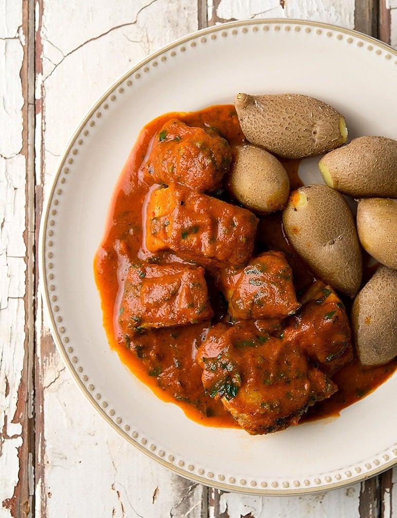 tuna red pepper sauce recipe