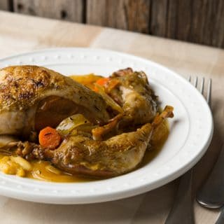 Spanish Partridge, Pheasant or Quail Escabeche