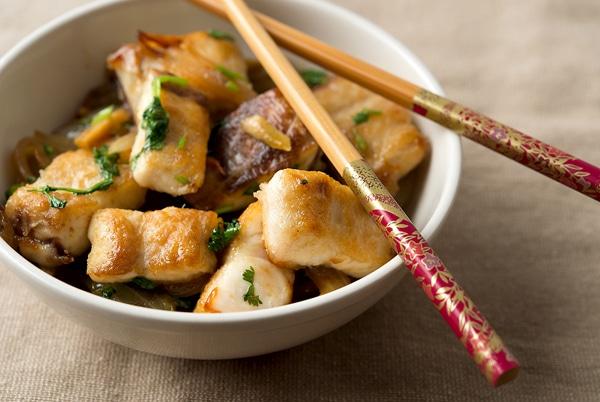 Vietnamese Crispy Fish Cilantro