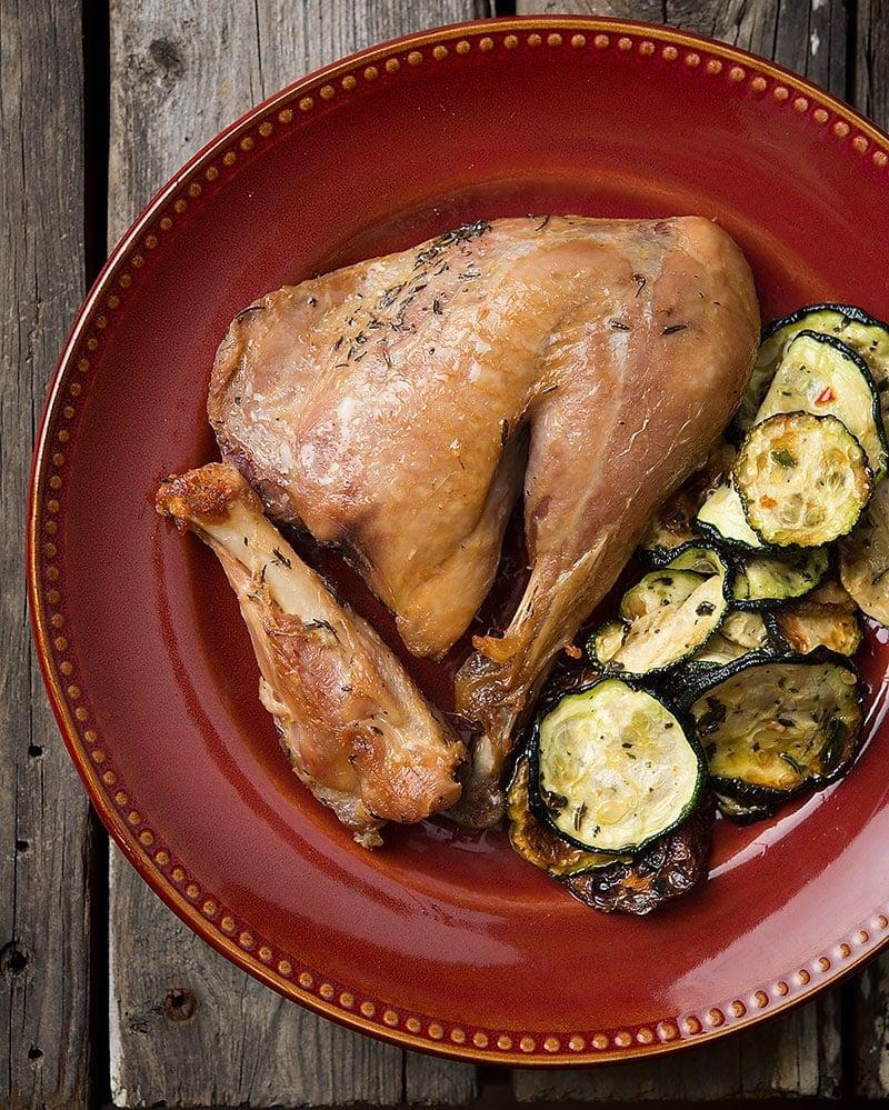 pheasant confit recipe