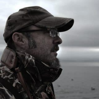 Hank Shaw duck hunting.
