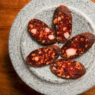 Hungarian paprika salami