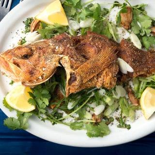 Fried whole fish recipe