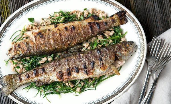 grilled whole trout recipe