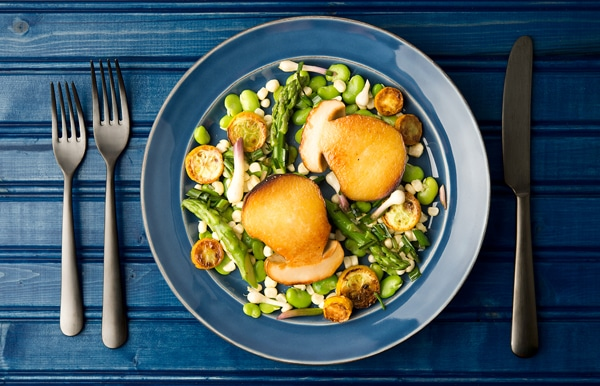 spring porcini salad recipe