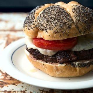 venison burger recipe