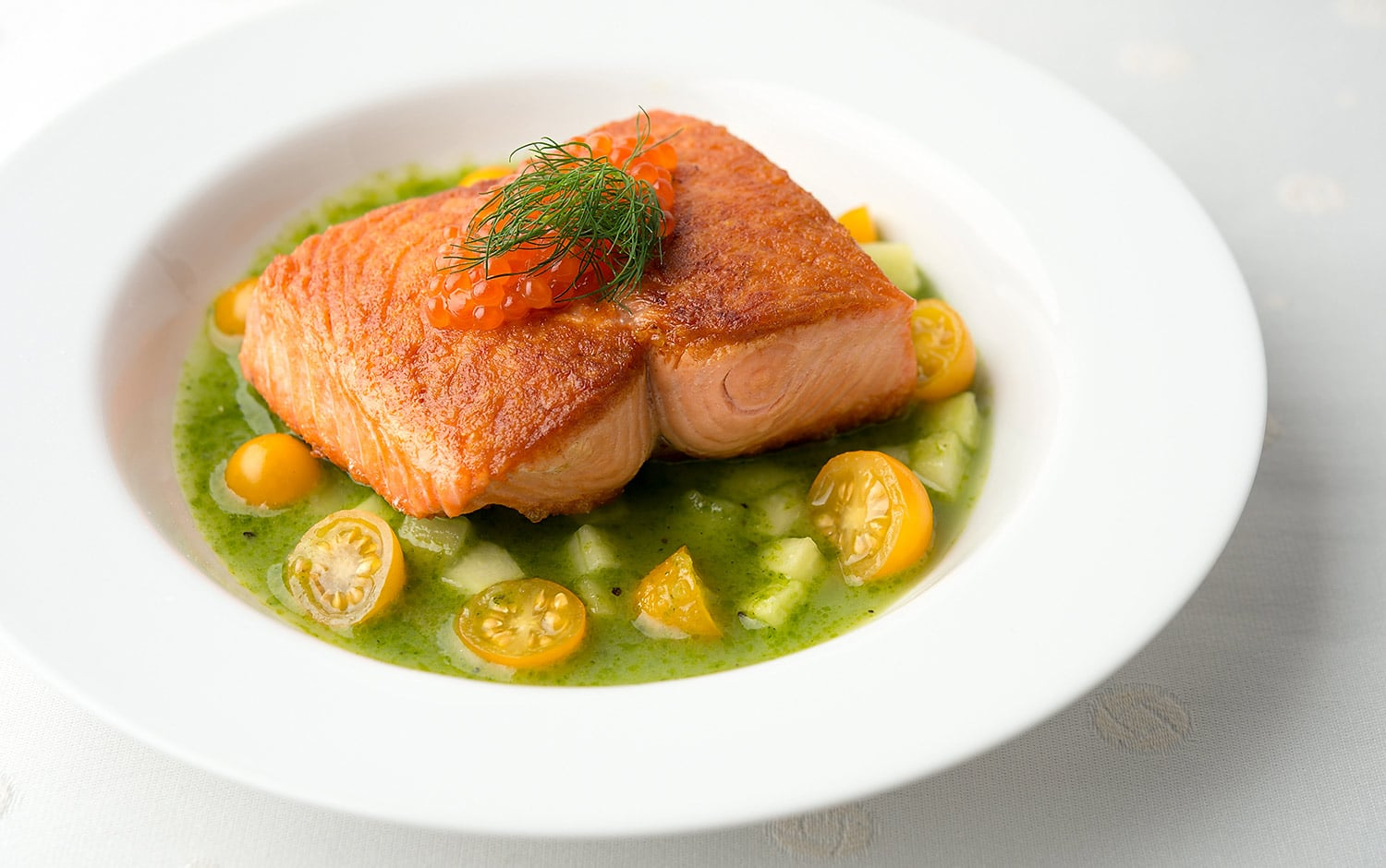 salmon cucumber sauce recipe