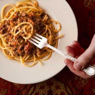giblet bolognese recipe