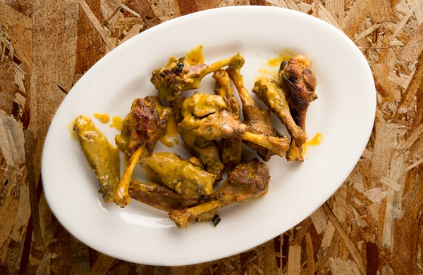 honey mustard duck wings recipe