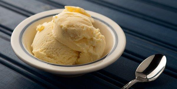 paw paw ice cream recipe, ready to eat