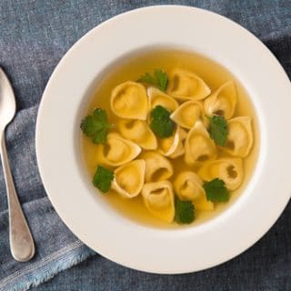 tortellini in broth recipe