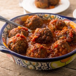 albondigas al chipotle recipe