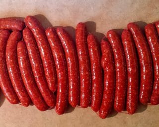 venison merguez recipe