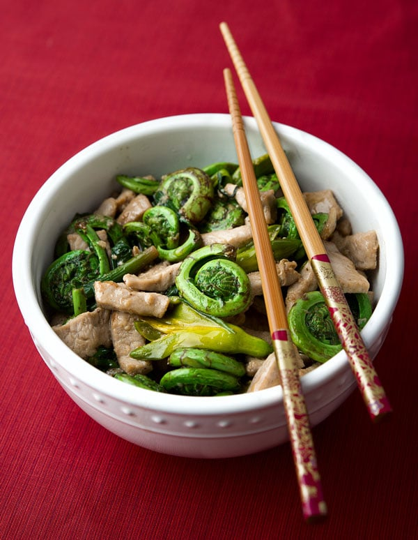 fiddlehead recipe stir fry