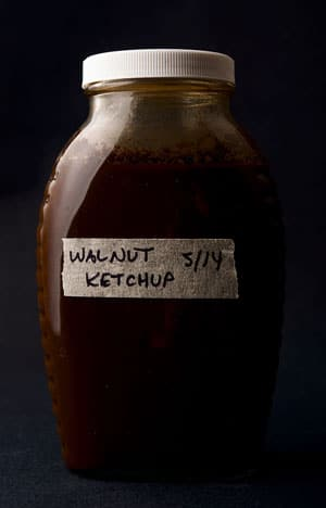 Walnut ketchup