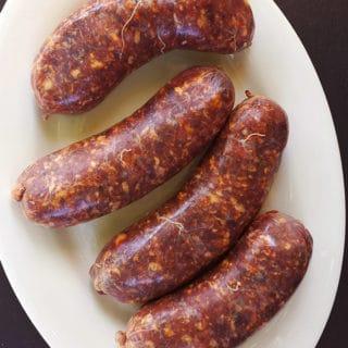 Argentine chorizo sausage recipe