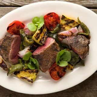 Grilled duck breast recipe