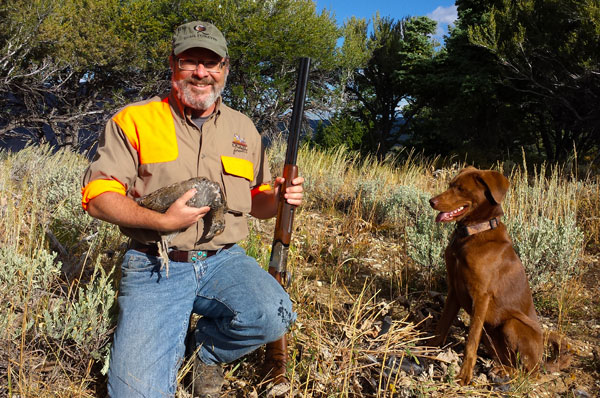 Hunting Blue Grouse