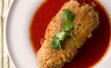 Oaxacan chiles rellenos recipe