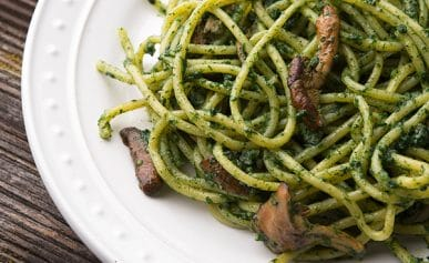 nettle pesto recipe