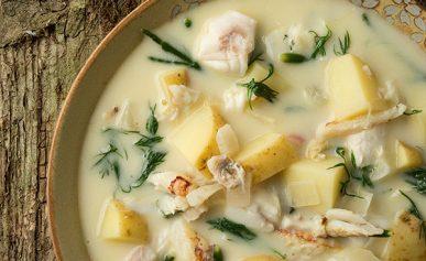 Nordic fish chowder recipe