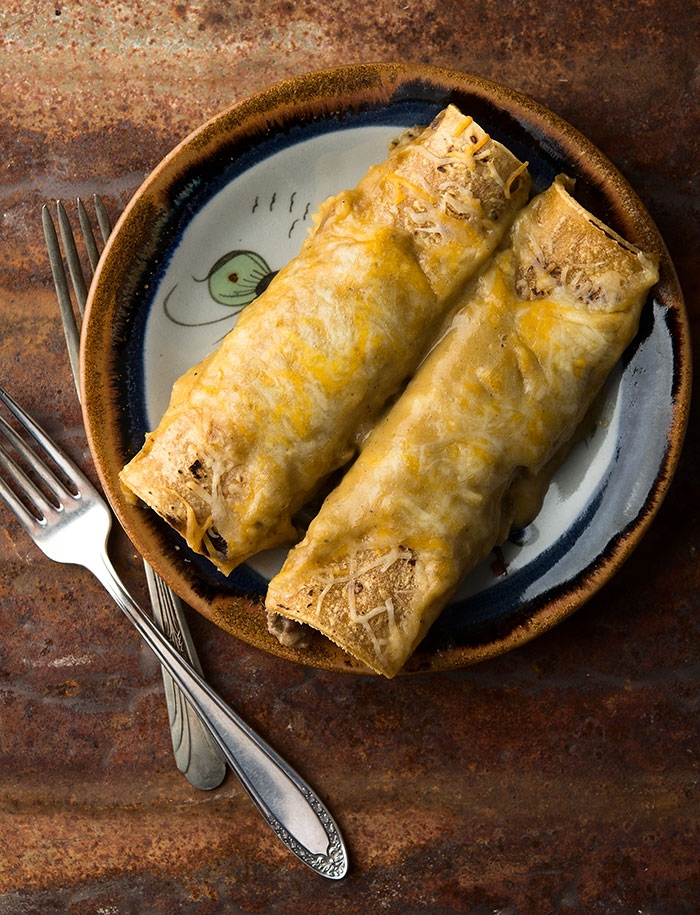 Dove enchiladas recipe