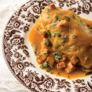 French stuffed cabbage