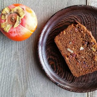 Persimmon Bread with Nuts and Fruit