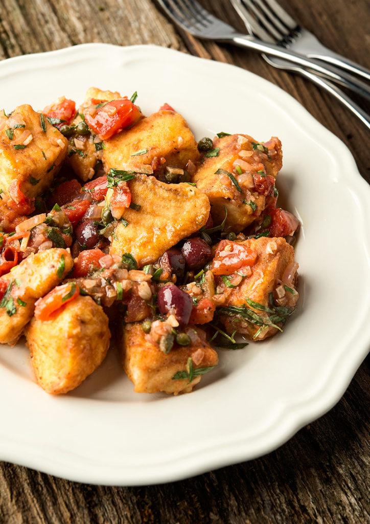 Italian halibut recipe