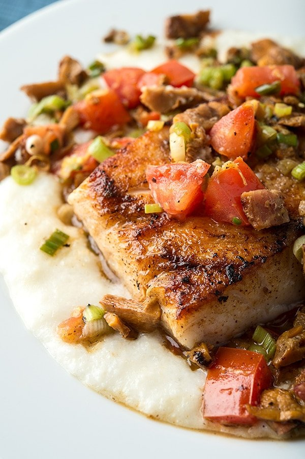 tripletail recipe with grits